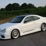 Modifiyeli Mercedes – Benz CLK Modelleri