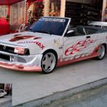 Modifiyeli Subaru Justy Modelleri